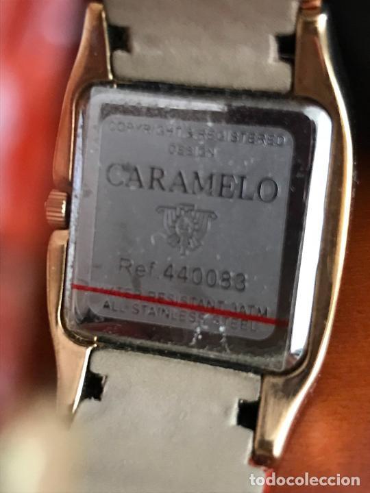 Relojes: precioso reloj MUJER marca CARAMELO, EN SU ESTUCHE ORIGINAL - Foto 3 - 240809860