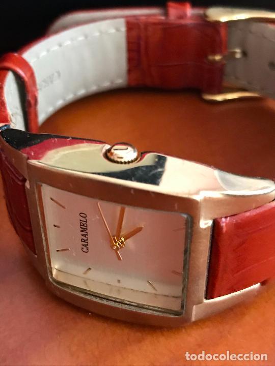Relojes: precioso reloj MUJER marca CARAMELO, EN SU ESTUCHE ORIGINAL - Foto 4 - 240809860