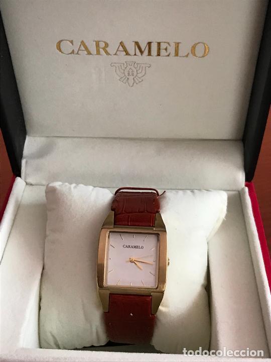 PRECIOSO RELOJ MUJER MARCA CARAMELO, EN SU ESTUCHE ORIGINAL (Relojes - Relojes Actuales - Otros)