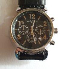 Orologi: RELOJ PAUL VERSAN CHRONOGRAPH DE CUARZO FUNCIONA .MIDE 38 MM DIAMETRO. Lote 241013025