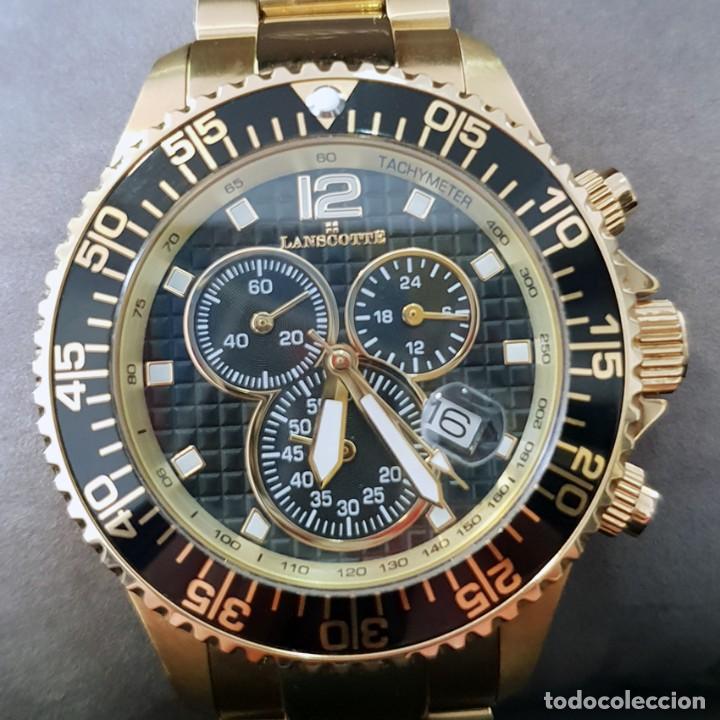 Relojes: Reloj Cronógrafo Lanscotte Symbol. - Foto 2 - 241965245