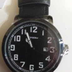 Relojes: RELOJ SINOBI CLÁSICO NEGRO HOMBRE NUEVO. Lote 243152420