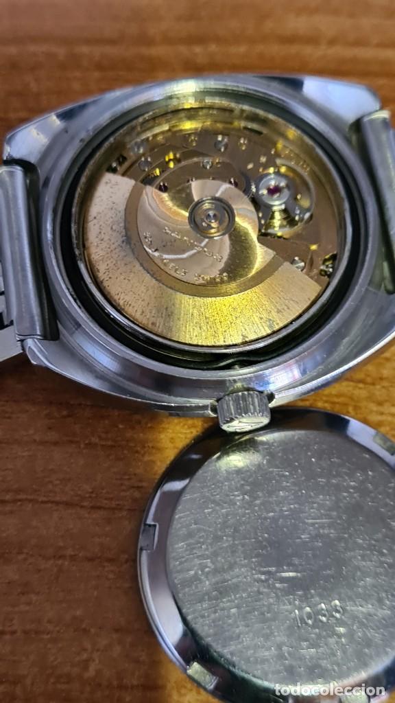 Relojes: Reloj caballero (Vintage) SANDOZ automático en acero con calendario a las tres, correa de acero. - Foto 15 - 243617175