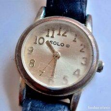 Relojes: RELOJ SOLO - CAJA DE 22.MM DIAMETRO. Lote 244420905