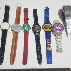 Relojes: LOTE DE RELOJES SIN PROBAR. Lote 244437525