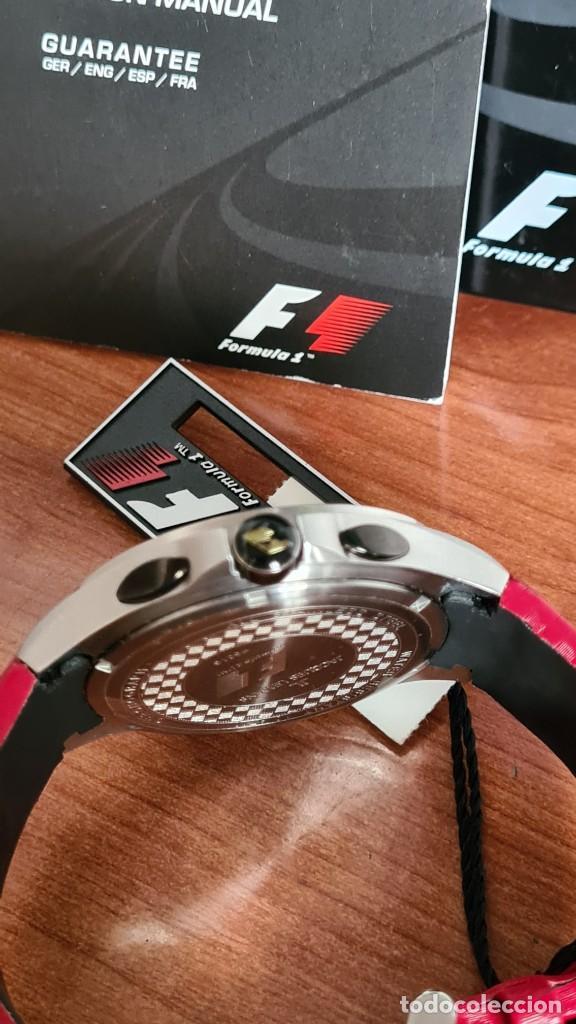 Relojes: Reloj caballero cuarzo JACQUES LEMANS. Fórmula 1, caja acero, bisel con taquímetro, esfera vino. - Foto 16 - 244684660