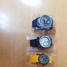 Relojes: COLECCIÓN DE RELOJES CALGARY. COLECCIÓN MOTOR. 5 RELOJES. NUEVOS. Lote 244882435