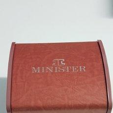 Relojes: ESTUCHE PARA RELOJ MINISTER. Lote 245488970