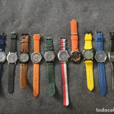 Relojes: COLECCIÓN 12 RELOJES CALGARY. Lote 245588810