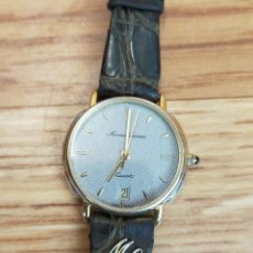 Relojes: RELOJ MAURICE LACROUX CROCO VERITABLE ORIGINAL - PIEL DE COCODRILO. Lote 247993730
