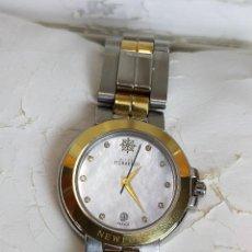 Relojes: RELOJ MICHEL HERBELIN PARIS NEWPORT CON ESFERA DE NACAR Y CRISTAL DE ZAFIRO. Lote 247994005