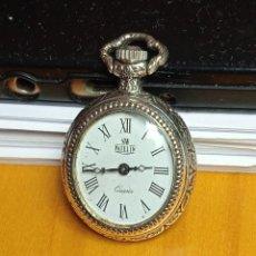 Relojes: RELOJ DE BOLSILLO PATELIN QUARTZ PLATEADO.. Lote 248070205