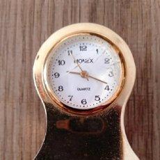 Relojes: RELOJ SOBREMESA EN MINIATURA. MARCA MONEX. QUARTZ.. Lote 248440450