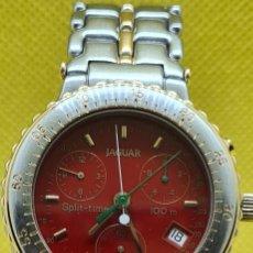Relojes: RELOJ CABALLERO JAGUAR SPLIT TIME 100M, CUARZO CRONO, CALENDARIO, FECHA, CAJA Y CORREA ACERO BICOLOR. Lote 248468075