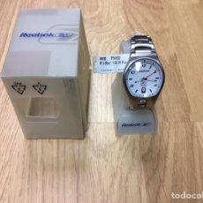 Relojes: RELOJ DE ACERO REEBOK MOD. T54832 NUEVO EN SU CAJA ORIGINAL CON INSTRUCCIONES. Lote 248646965