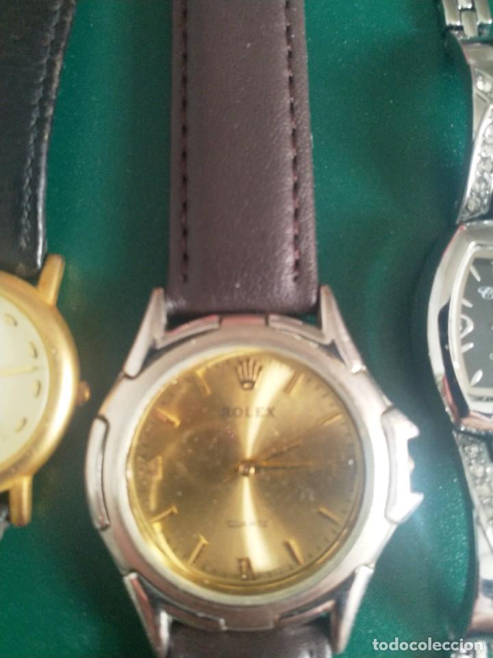 Relojes: Lote 5 relojes ( sin pila o averiados) - Foto 2 - 251176115