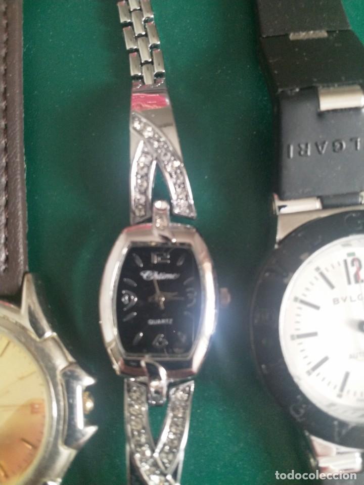 Relojes: Lote 5 relojes ( sin pila o averiados) - Foto 4 - 251176115