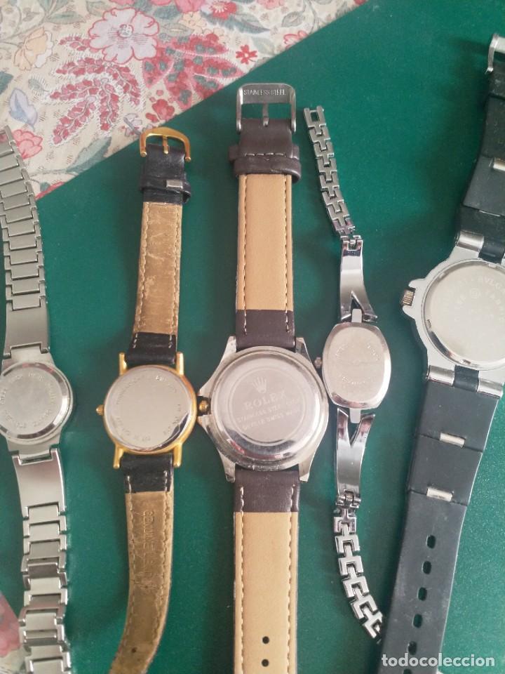 Relojes: Lote 5 relojes ( sin pila o averiados) - Foto 7 - 251176115