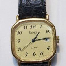 Relojes: RELOJ ANTIGUO CABALLERO QUARZO REMEX. Lote 251453045