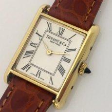 Relojes: TIFFANY&CO. MUJER-PLAQUÈ ORO-COMO NUEVO. Lote 253583340