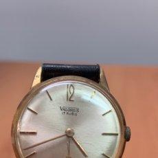 Relojes: RELOJ PULSERA CARGA MANUAL.MARCA VALORUS.17 RUBIS. Lote 254388360