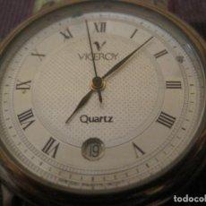 Relojes: RELOJ DE PULSERA VICEROY 43003 PLATA Y DORADO. Lote 254882630
