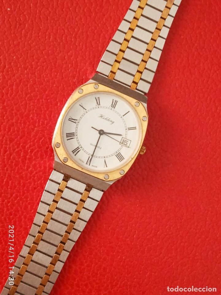 Relojes: RELOJ HOLDING QWARTZ BICOLOR COMO NUEVO. - Foto 2 - 254995390