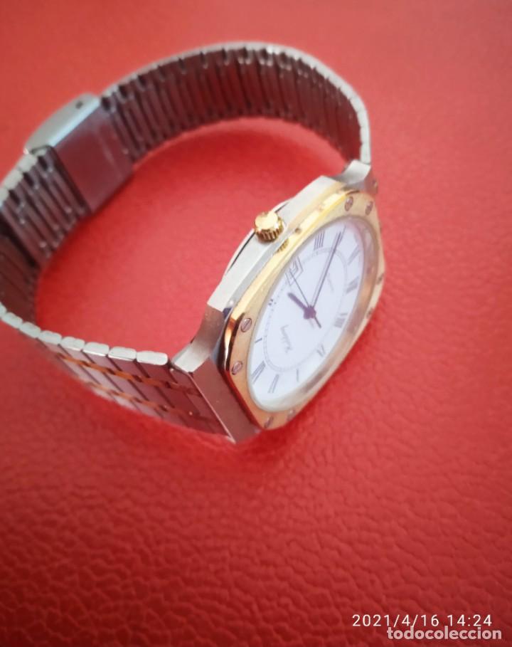 Relojes: RELOJ HOLDING QWARTZ BICOLOR COMO NUEVO. - Foto 5 - 254995390