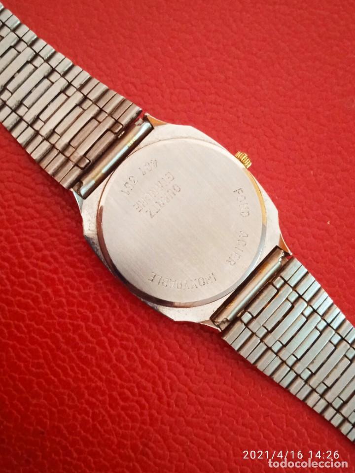 Relojes: RELOJ HOLDING QWARTZ BICOLOR COMO NUEVO. - Foto 7 - 254995390