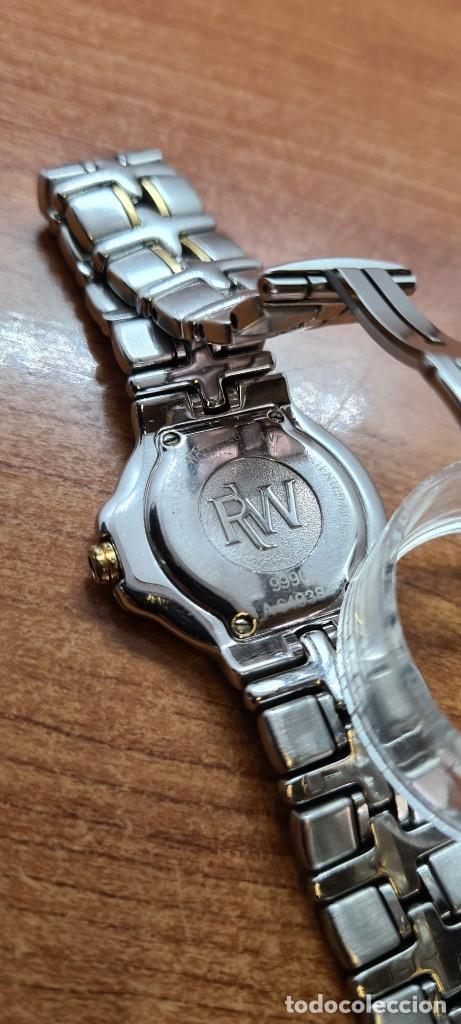 Relojes: Reloj señora RAYMOND WEIL. Parsifal acero y oro, esfera champán, calendario a las seis, correa acero - Foto 11 - 255441130