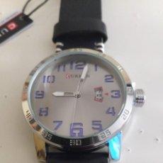 Relojes: RELOJ CURREN M-8254 PLATEADO AZUL NUEVO. Lote 255480790