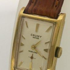 Relojes: CAUNY PLAQUÈ ORO-COMO NUEVO.. Lote 256085175