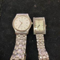 Relojes: LOTE DE 2 RELOJES PARA REVISAR. Lote 257438040