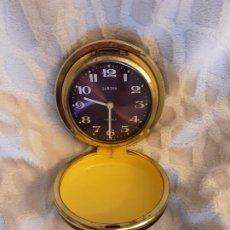 Relojes: ANTIGUO RELOJ DESPERTADOR EUROPA - EN ESTUCHE DE VIAJE - NO FUNCIONA. Lote 257478160