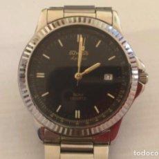 Relojes: RELOJ DUWARD AQUASTAR 6628-1 50 M. ESFERA TACHYMETRE. PERFECTO ESTADO. Lote 257480365