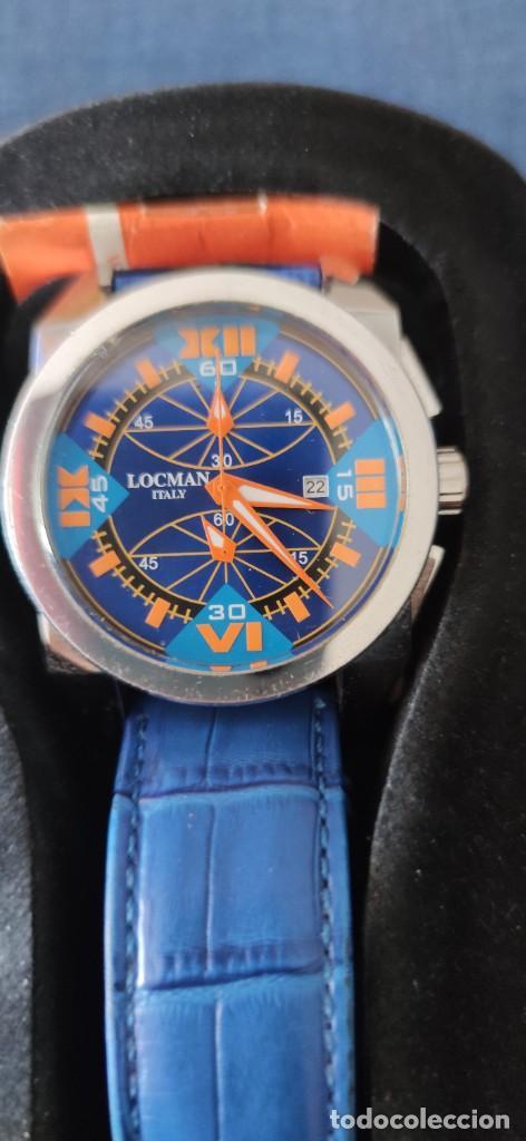PRECIOSO CRONOGRAFO LOCMAN, QUARZO, EN PERFECTO ESTADO. (Relojes - Relojes Actuales - Otros)