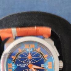 Relojes: PRECIOSO CRONOGRAFO LOCMAN, QUARZO, EN PERFECTO ESTADO.. Lote 257657380