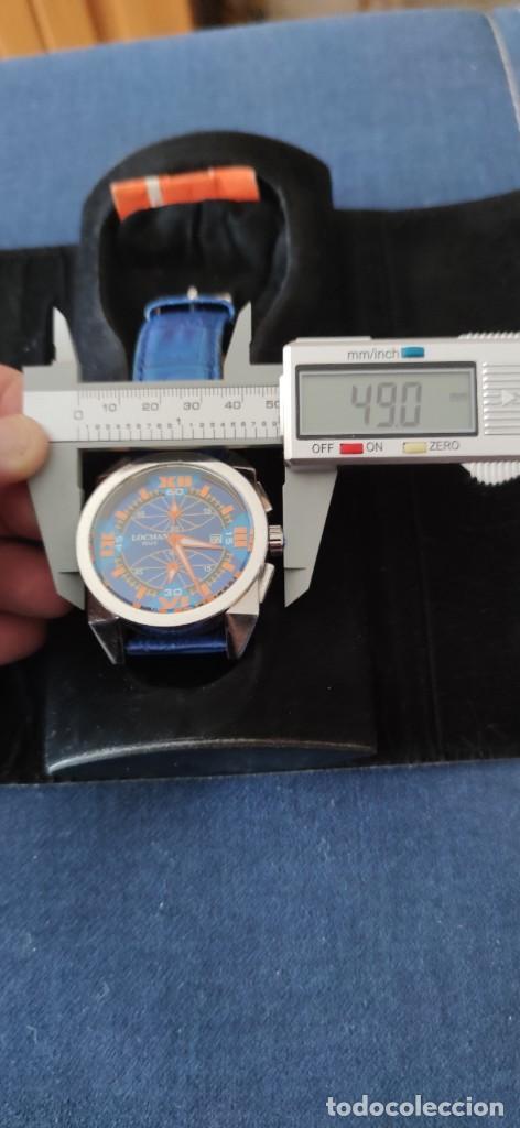 Relojes: PRECIOSO CRONOGRAFO LOCMAN, QUARZO, EN PERFECTO ESTADO. - Foto 12 - 257657380