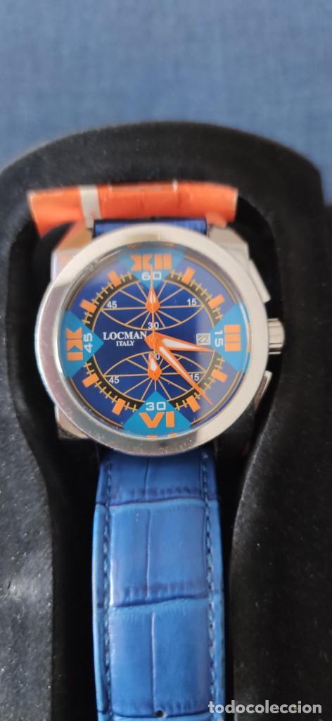 Relojes: PRECIOSO CRONOGRAFO LOCMAN, QUARZO, EN PERFECTO ESTADO. - Foto 25 - 257657380