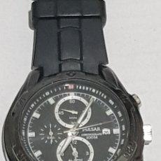 Relojes: RELOJ PULSAR CHRONOGRAPF 47MM CON CORONA. Lote 257900350