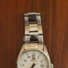 Relojes: RELOJ MAREA WATER RESSIST - CORREA METÁLICA. Lote 259803525
