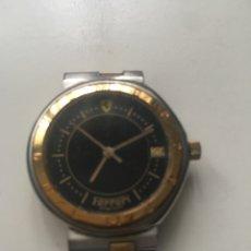 Relojes: RELOJ FERRARI DAMA ACERO Y CHAPA ORO CUARZO. Lote 259905560