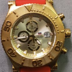 Relojes: BONITO RELOJ EMBOSS TIME SCUBA MASTER 5MIC/18K GOLD. Lote 260365320