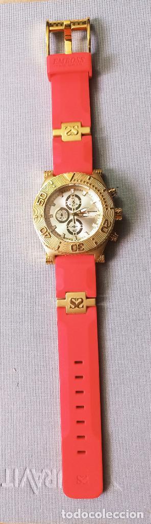 Relojes: BONITO RELOJ EMBOSS TIME SCUBA MASTER 5mic/18K GOLD - Foto 3 - 260365320