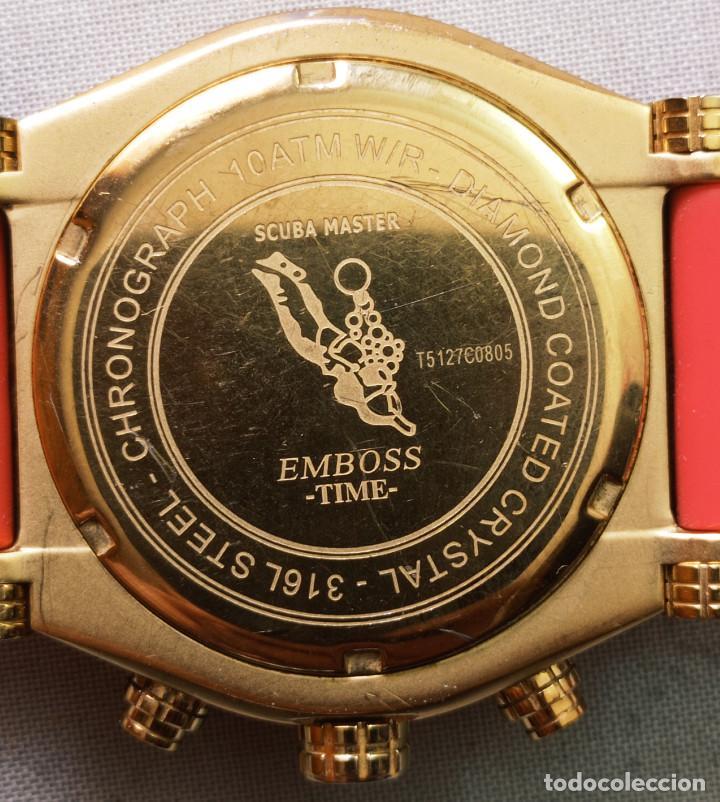Relojes: BONITO RELOJ EMBOSS TIME SCUBA MASTER 5mic/18K GOLD - Foto 7 - 260365320