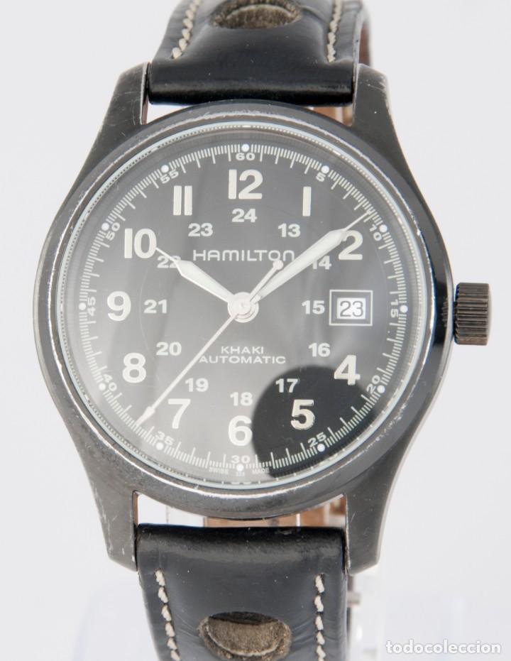 HAMILTON KHAKI AUTOMATIC REF: H705850 (Relojes - Relojes Actuales - Otros)