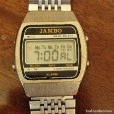 Relojes: RELOJ DIGITAL JAMBO. Lote 262058050