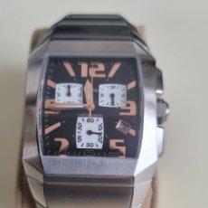 Relojes: ESPECTACULAR RELOJ FESTINA F16129 STAIN STEEL 5ATM. Lote 262085465