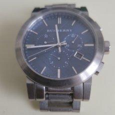 Relojes: IMPRESIONANTE RELOJ HOMBRE BURBERRY THE CITY CRONOGRAFO BU9363. Lote 262164875
