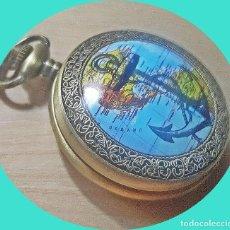 Relojes: RELOJ TEMATICO NAVEGACION MUNDIAL. Lote 262255180